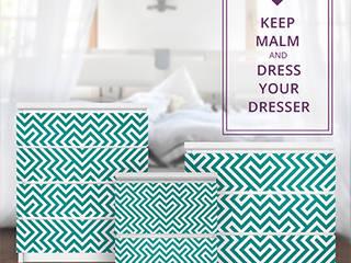 IKEA HACKS - Design Möbelfolien für Billy & Malm YOUR DECO SHOP AnkleidezimmerKleiderschränke- und kommoden
