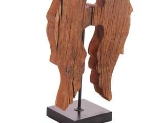 Eindrucksvolle Holzfiguren von Nic Duysens GmbH Rustikal