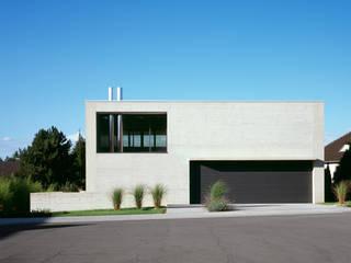 Südfassade:  Häuser von PaulBretz Architectes