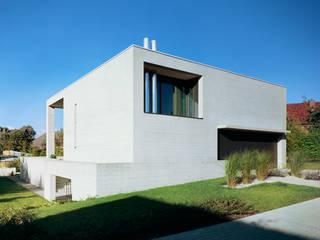 Südwestfassade:  Häuser von PaulBretz Architectes