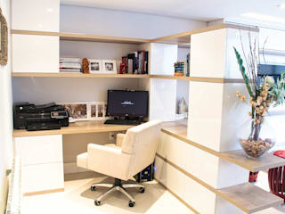 Oficinas de estilo ecléctico de Sarah & Dalira Ecléctico