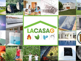 La Casa G: The Sustainable House in Argentina. Modern home by La Casa G: La Casa Sustentable en Argentina Modern