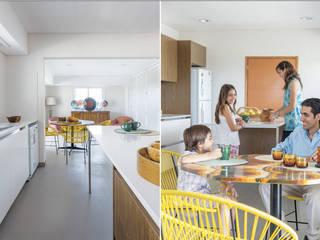 La Casa G: La Casa Sustentable en Argentina.: Cocinas de estilo  por La Casa G: La Casa Sustentable en Argentina,Moderno