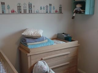 Boy's Nursery Room:  Nursery/kid's room by Eva Antoniou Interior Design