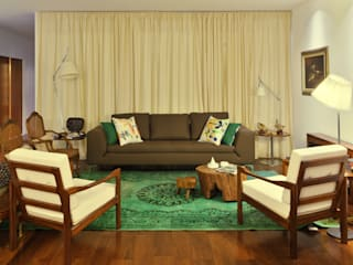 Colonial style living room by Tiago Patricio Rodrigues, Arquitectura e Interiores Colonial
