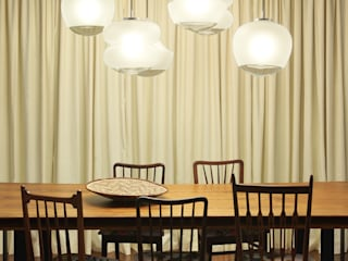 Casa Ideal 2012_Interiores: Salas de jantar  por Tiago Patricio Rodrigues, Arquitectura e Interiores