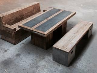 Sitzgruppe im Vintage Style :   von Concept Beton