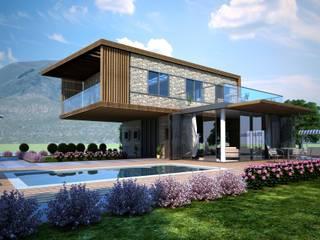 Дома в . Автор – GOOA|GLOBAL OFFICE OF ARCHITECTURE , Модерн