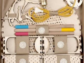 Lampa CYRK: styl , w kategorii  zaprojektowany przez Smaga Projektanci