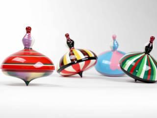drewniane bączki: styl , w kategorii  zaprojektowany przez Smaga Projektanci