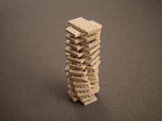 """Domino """"Na kołach"""": styl , w kategorii  zaprojektowany przez Smaga Projektanci"""