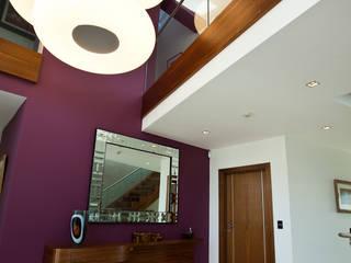 The Cliff - Jersey Modern corridor, hallway & stairs by Nethaus Ltd Modern