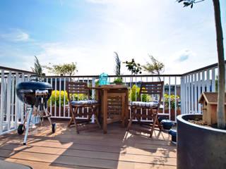 BBQ op uw Dakterras:  Balkon, veranda & terras door Renoparts Vianen B.V. | Uw Dakterras Specialist