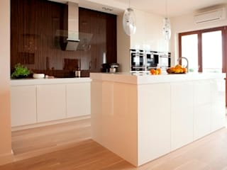 Cocinas minimalistas de living box Minimalista