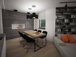 Comedores minimalistas de living box Minimalista