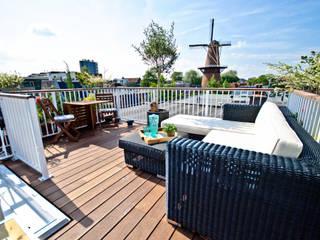 Totaal concept Dakterras incl. tuinset:  Balkon, veranda & terras door Renoparts Vianen B.V. | Uw Dakterras Specialist