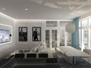 Salones clásicos de living box Clásico