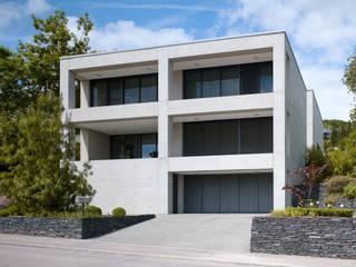Ansicht Strasse:  Häuser von PaulBretz Architectes