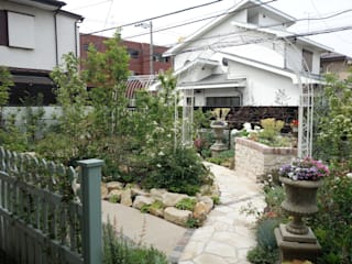 Eclectic style garden by 有限会社ガオー Eclectic