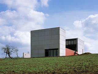 Nordwestfassade:  Häuser von PaulBretz Architectes