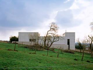 Nordostfassade:  Häuser von PaulBretz Architectes