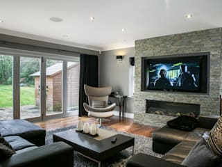 Hata Smart Home Modern living room by Finite Solutions Modern