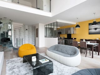 Modern living room by am alexandra magne Modern