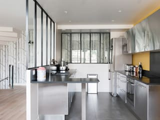 am alexandra magne Industrial style kitchen