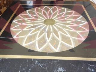 Reyhan Mermer Sanayi Ltd. – Applicated Floor Medallions - Real Produce: modern tarz , Modern