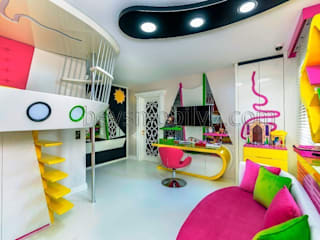 Nursery/kid's room by Akabe Mobilya San ve Tic. Ltd. Şti, Minimalist