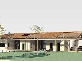 Villa arboricole: Maisons de style  par Atelier du Revest