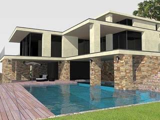 Villa d'exception: Maisons de style  par Atelier du Revest