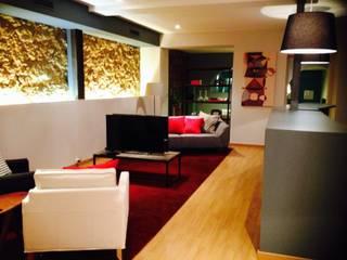THE PLAYCE - LANÇAMENTO PS4 Salas de estar modernas por Stoc Casa Interiores Moderno