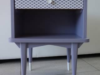Chevet ou Bout de canapé Vintage:  de style  par L'Effet du Pinceau