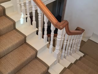 Stairway Projects Classic style corridor, hallway and stairs by Sisal & Seagrass Classic