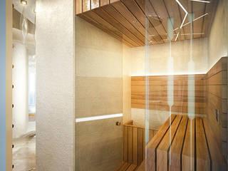 Футуристическая квартира в Москве: Спа в . Автор – Cтудия дизайна Станислава Орехова