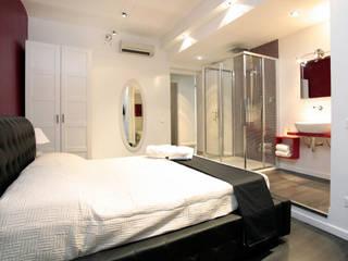 B&B a Borgo Vittorio Camera da letto moderna di o/m architetti Moderno