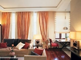 Квартира в историческом центре г. Москвы: Гостиная в . Автор – Судникова Вероника,