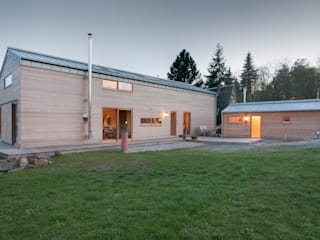 Wohn- und Saunahaus:  Holzhaus von k² Architektur