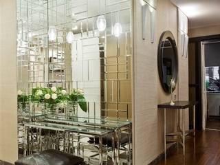 Частные апартаменты в Москве, 115 кв.м.: Коридор и прихожая в . Автор – Судникова Вероника,