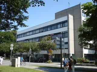 Wohnanlagen Industriale Häuser von Architekturbüro Rudolf Fürstner Industrial