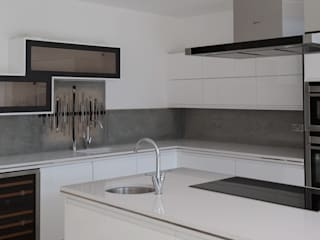 Sandbanks Kitchen Splashback :   by The House of Ugly Fish