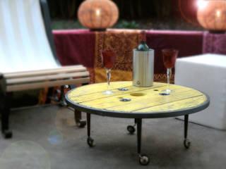 """Table basse """"TAGZIE"""":  de style  par Atelier du Parfond"""