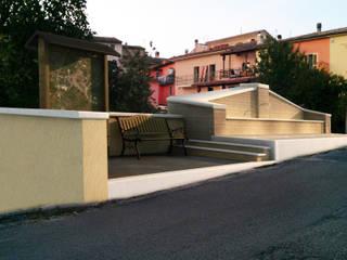 Restauro dell'antico fontanile - lavatoio Comunale della Fraz. di Collebrincioni - AQ:  in stile  di Studio Tecnico Arch Simone Zigrossi