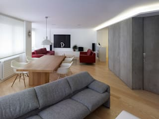 Modern living room by Castroferro Arquitectos Modern