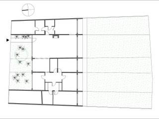 Plan de l'existant:  de style  par Vulacon-Gibello Architectes