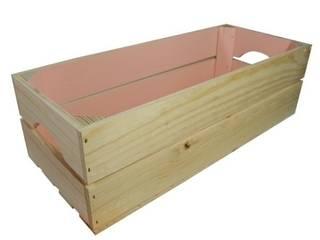 Caja rectangular rosa:  de estilo  de Chicplace