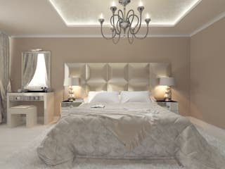 Tutto design Eclectic style bedroom