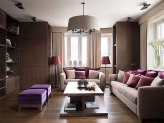 Квартира в Химках: Гостиная в . Автор – Дизайн бюро Татьяны Алениной,