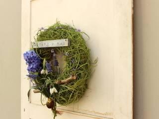 Fioletowe Cebulki od Zastygła Natura Minimalistyczny